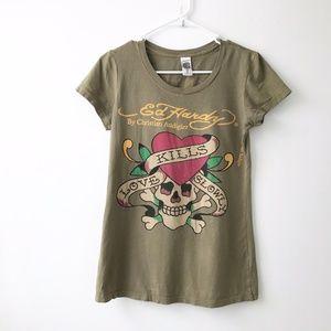 Ed Hardy by Christian Audigier  T-Shirt Size S